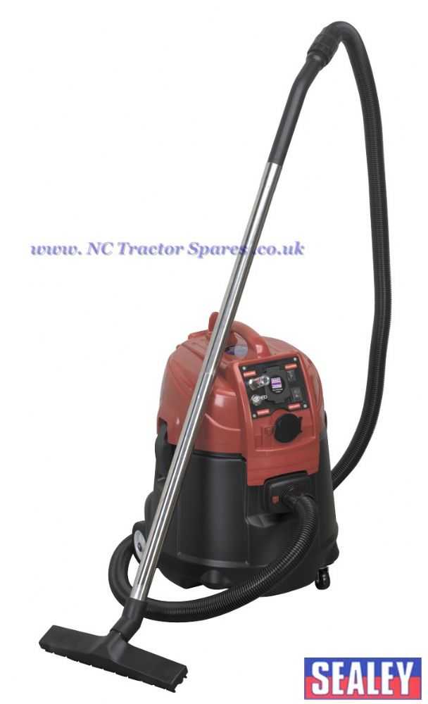 Combination Dust-Free/Wet & Dry Vacuum System Air/Electric - 28ltr